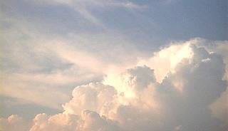 カリフラワーな雲。